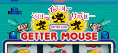 「ゲッターマウス」の打ち方・スペック・設定推測